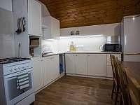 TROJKA - kuchyňský kout - apartmán k pronájmu Čachrov - Kunkovice