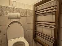 WC - chalupa k pronájmu Hory Matky Boží