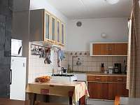 kuchyně - chalupa k pronajmutí Javorná