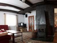 obývák - chalupa ubytování Javorná