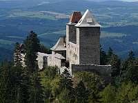 navštivte blízký hrad Kašperk z pohádky Anděl Páně - Podmokly u Sušice