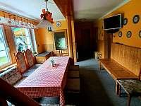 přízemí - chata ubytování Špičák