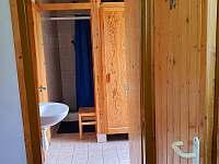 tři sprchové kouty - pronájem chaty Špičák