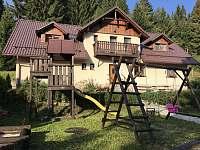 Hojsova Stráž ubytování 26 lidí  pronájem