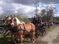 Projížďky na našich koních.