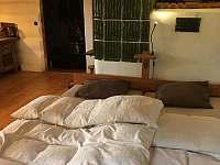 Ložnice 1 Za Kamny - chalupa k pronajmutí Úbislav V Dílech