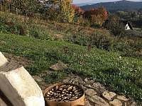Podzim a výhled od chalupy - Úbislav V Dílech