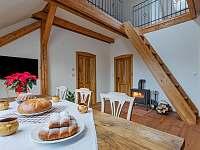 Apartmán č.3 - kuchyně / obývák