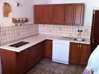 Kuchyňská linka - pronájem chalupy Horní Vltavice