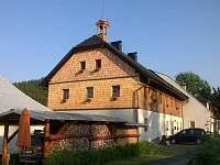 ubytování v penzionu na horách Nová Hůrka u Železné Rudy