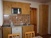 kuchyňka Fořtovo apartmá