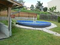 Venkovní bazén pr. 4,6 m hl 1 m