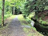 Cesta lesem do Bayerisch Eisenstain - ubytování Bayerisch Eisenstein
