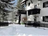 Penzion Šumaváček v zimě