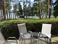 Terasa výhled na jezero - apartmán ubytování Lipno nad Vltavou