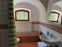 Koupelna - pronájem apartmánu Zelená Lhota