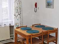 kuchyně - chalupa k pronajmutí Podmokly