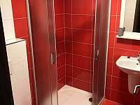 čtyřlůžkový pokoj - koupelna - chalupa k pronájmu Modrava - Filipova Huť