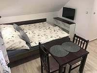 dvoulůžkový pokoj - chalupa ubytování Modrava - Filipova Huť