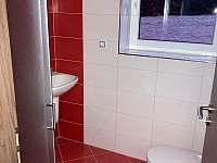 dvoulůžkový pokoj - koupelna - chalupa k pronajmutí Modrava - Filipova Huť