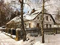 Zimní idylka - chalupa ubytování Volary - Chlum