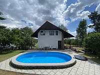 ubytování s bazéném Šumava