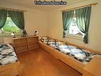 Třílůžková ložnice
