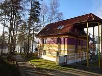 Venkovní vstup do apartmánu - ubytování Lipno nad Vltavou