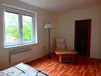 Ložnice 1.1 - apartmán ubytování Strážný