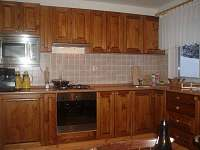 Plně vybavená kuchyně - pronájem chalupy Železná Ruda - Špičák