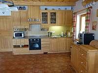 Kuchyně - chalupa k pronájmu Žďár u Nalžovských Hor