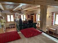 Pohled z pece - chalupa ubytování Žďár u Nalžovských Hor
