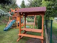 Posezení u dětského hřiště - Žďár u Nalžovských Hor