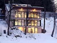Bella Vista Lipno v zimě - apartmán k pronájmu Přední Výtoň