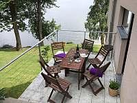 terasa apartmánu - k pronajmutí Přední Výtoň