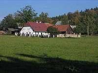 ubytování Šumavské Hoštice Chalupa k pronájmu