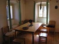 Kuchyně - chalupa ubytování Šumavské Hoštice