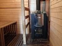 Sauna - Šumavské Hoštice