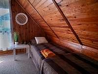 Ložnice 2 - chalupa ubytování Horní Planá - Hory