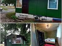 Zelená RETRO chata B - pronájem Hnačov