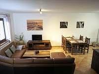 obývací pokoj - apartmán ubytování Lipno nad Vltavou