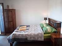 ložnice 1 - rekreační dům k pronájmu Lipno nad Vltavou