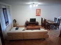 obývací pokoj - rekreační dům ubytování Lipno nad Vltavou