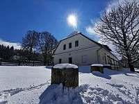 Zima v Údolí - chalupa ubytování Černé Údolí