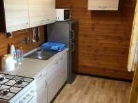 Kuchyň - pronájem chaty Horní Planá - Dobrá Voda