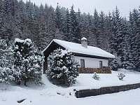 Chata v zimě - k pronájmu Annín