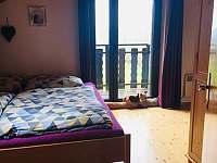 Ložnice s balkónem - Javor - Loučany