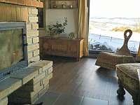 Obývací pokoj - chalupa k pronajmutí Javor - Loučany