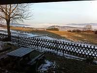 Výhled na Český les - chalupa k pronajmutí Javor - Loučany
