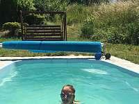 Bazén 1 - pronájem chalupy Hlohová